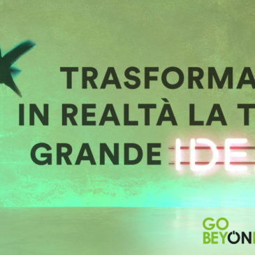 GoBeyond – Call for ideas per l'innovazione sociale