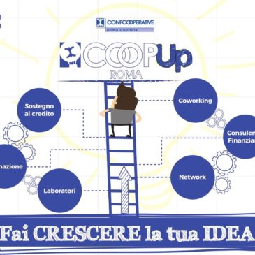 CoopUp Roma – Bando per le start up cooperative laziali