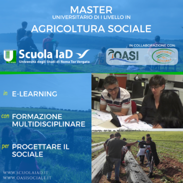 Master in Agricoltura Sociale 2020
